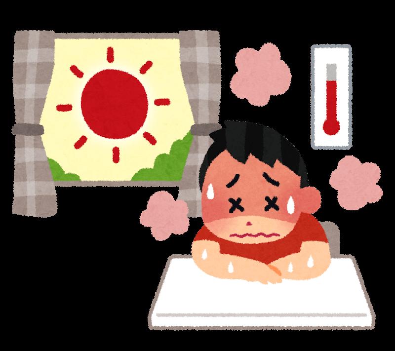 暑すぎる!