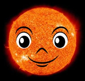 『太陽コロナ』は『太陽君』になる