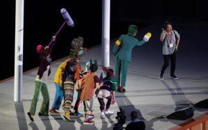 現実の東京オリンピック2020開会式